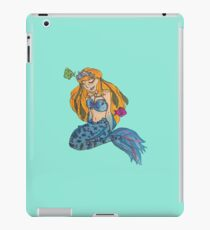 Blue Mermaid iPad Case/Skin