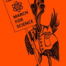 March for Science Canberra – Cassowary, black by sciencemarchau