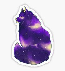 Space Bork - Samoyed Sticker