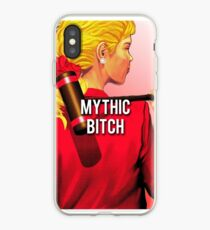 mythic bitch iPhone Case