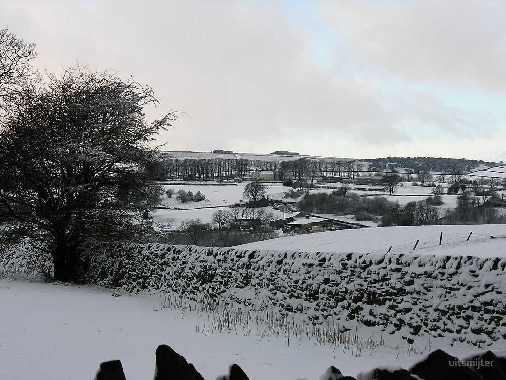 Lancashire in the Snow by uitsmijter