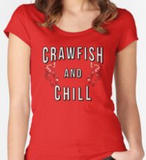 Crawfish and Chill Women's Fitted Scoop T-Shirt