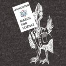 March for Science Launceston – Cassowary, white by sciencemarchau