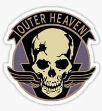 Metal Gear Solid V - Outer Heaven (Black) Sticker