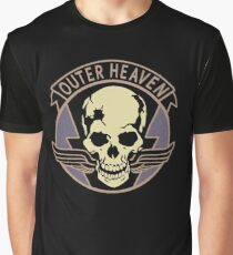Metal Gear Solid V - Outer Heaven Graphic T-Shirt