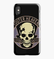 Metal Gear Solid V - Outer Heaven iPhone Case/Skin
