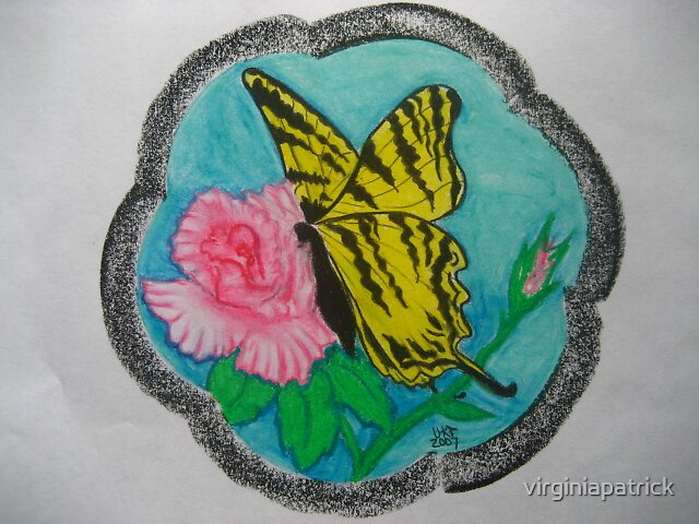 Butterflyrose by virginiapatrick