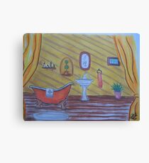 Double Bath Canvas Print