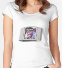 Childish Gambino - Nintendo Cartridge Women's Fitted Scoop T-Shirt