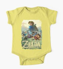 Zelda Breath of the Wild One Piece - Short Sleeve