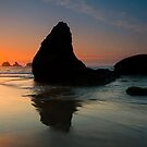 Bandon Sundown by DawsonImages