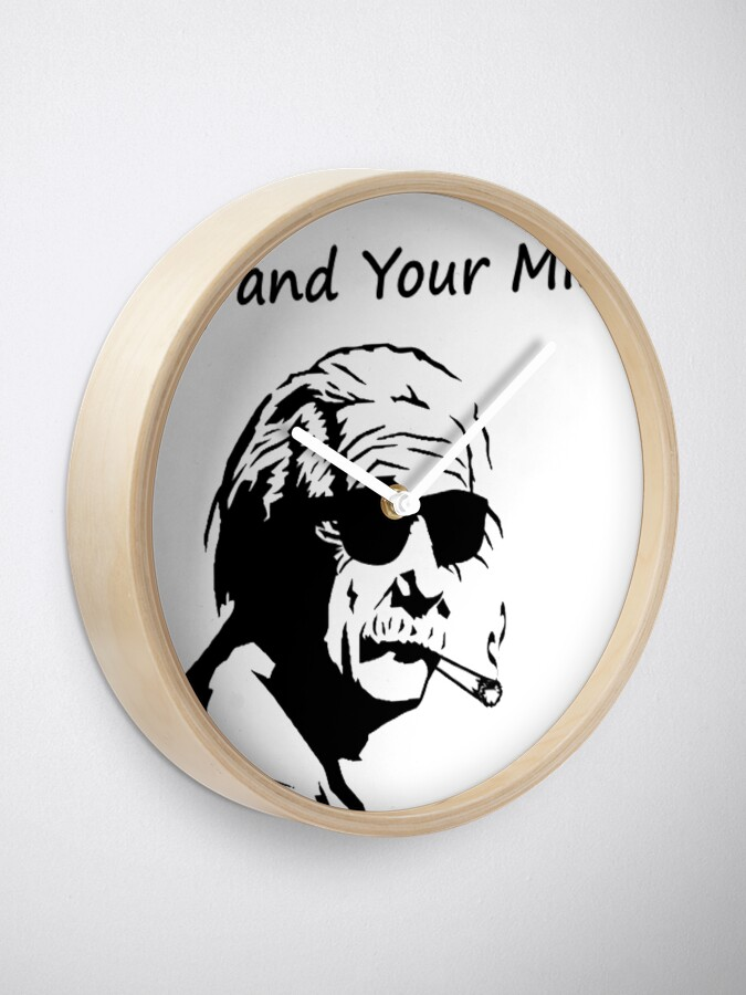 Vista alternativa de Reloj  Expand Your Mind Einstein