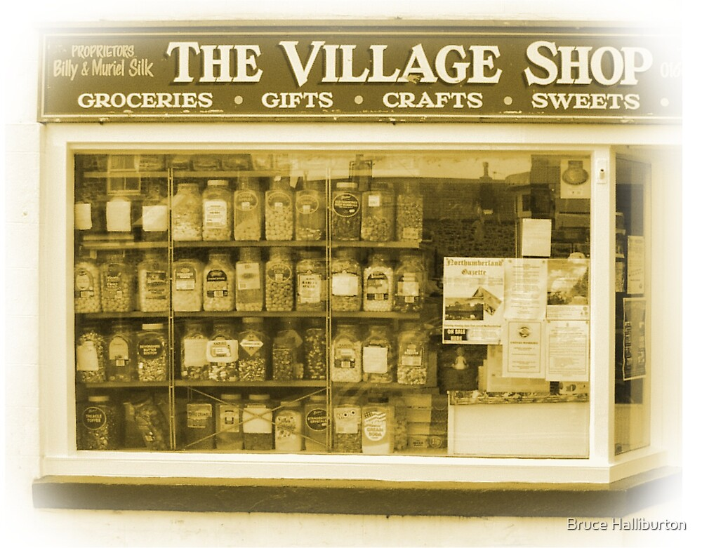 Sweet Shop by Bruce Halliburton