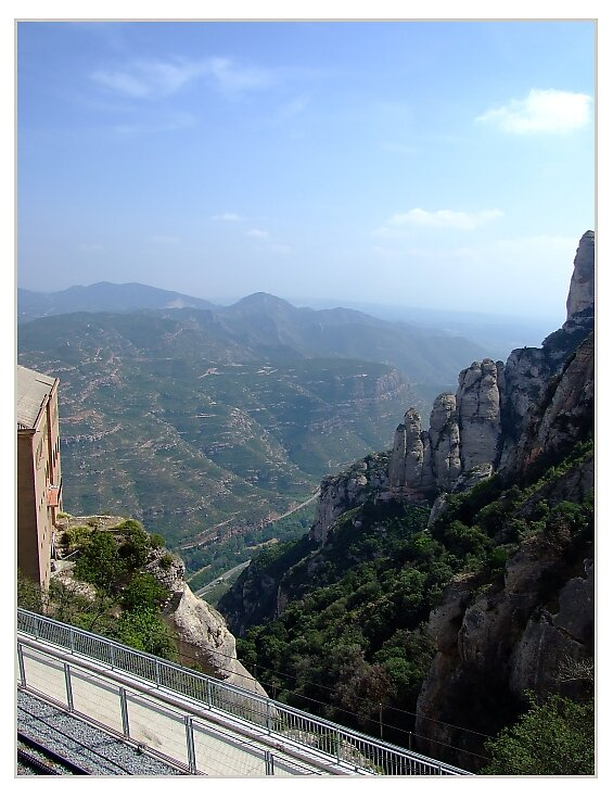 View from Montserrat by Susan Dailey