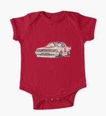 Crazy Car Art 0176 One Piece - Short Sleeve
