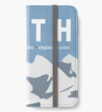 Galactic Travel - Hoth iPhone Wallet/Case/Skin