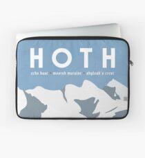 Galactic Travel - Hoth Laptop Sleeve