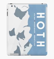 Galactic Travel - Hoth iPad Case/Skin