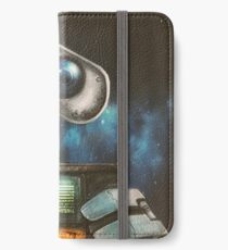 WALL-E Robot Painting iPhone Wallet/Case/Skin