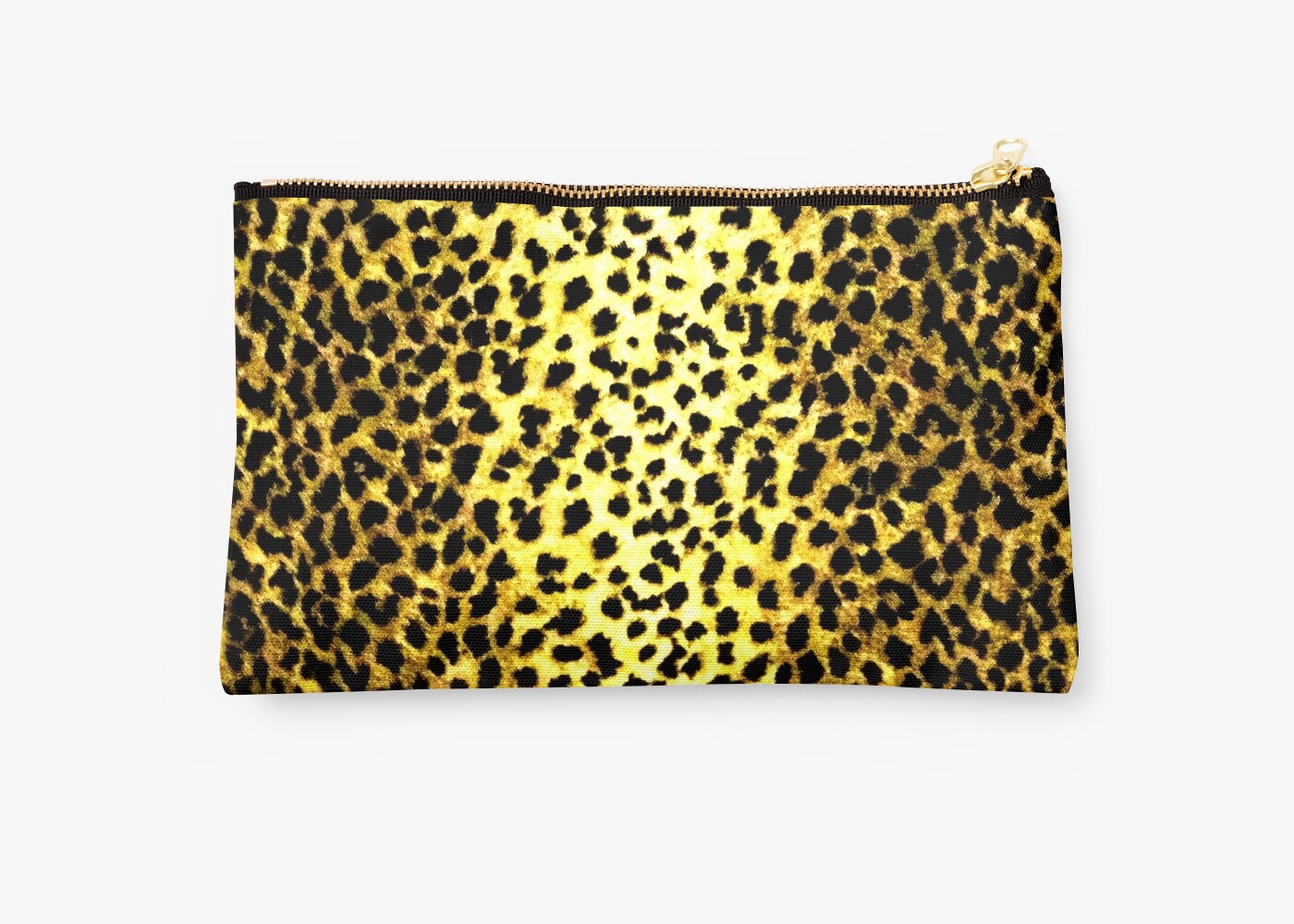 'Leopard Wallpaper Animal Print' Studio Pouch by yonni