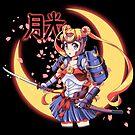 Moon Light Samurai by coinbox tees