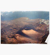 Lanzarote- Land of the Volcanoe Poster