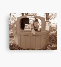 Kissing Booth Canvas Print