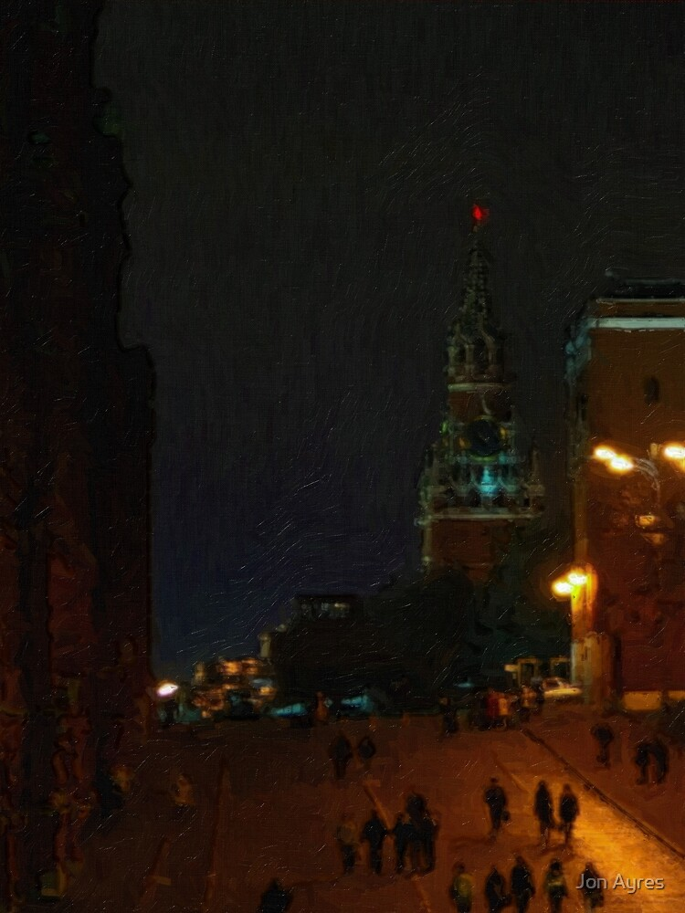 Spasskaya Tower by Jon Ayres