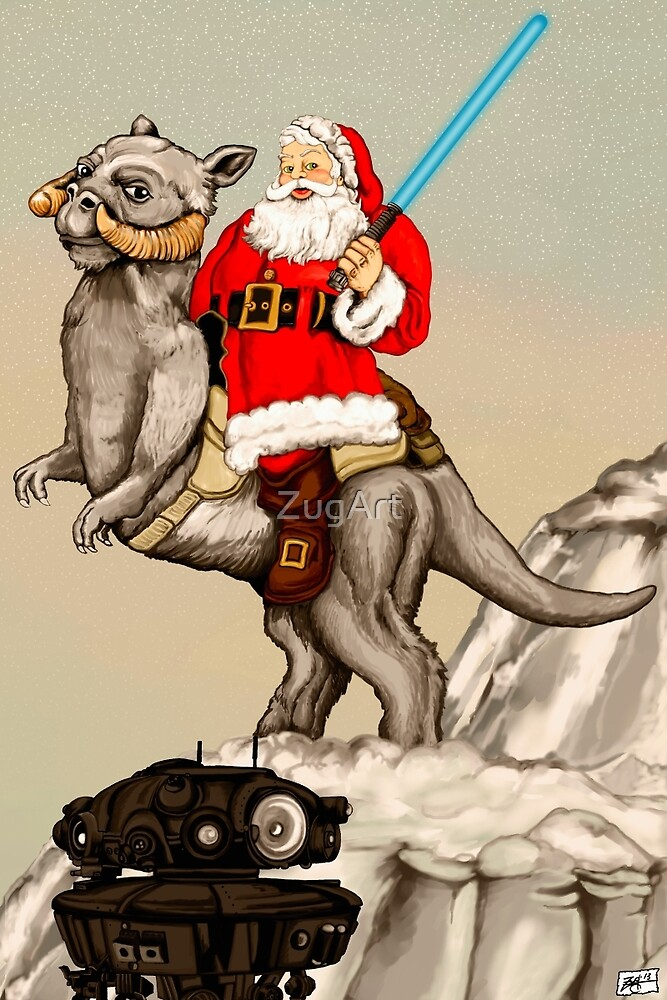 Ice Planet of Claus by ZugArt