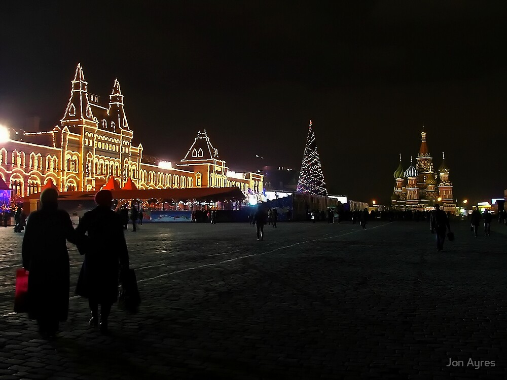 Christmas in Red Square by Jon Ayres