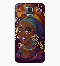 Nubian Queen Case/Skin for Samsung Galaxy