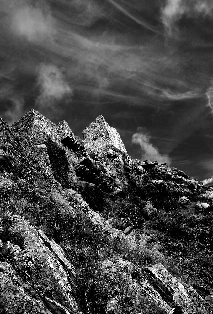 Castle in the sky by Nicholas Averre