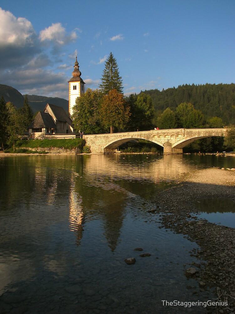 Bohinj Jezero, Slovenija by TheStaggeringGenius