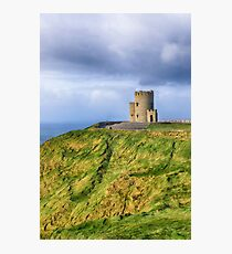 Wind Swept_Cliffs of Moher_Ireland Photographic Print