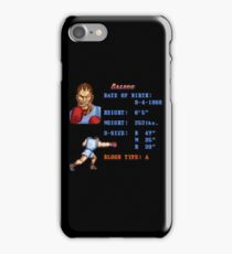 B Stats iPhone Case/Skin