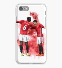 Pogba and Lingard Art - Dab iPhone Case/Skin