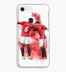 Pogba and Lingard Art - Dab iPhone Case/Skin