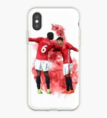 Pogba and Lingard Art - Dab iPhone Case