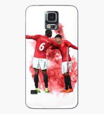 Pogba and Lingard Art - Dab Case/Skin for Samsung Galaxy