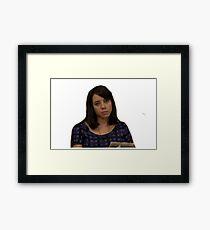 April Parks and Rec  Framed Print