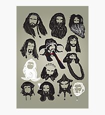In the Company of Dwarves Photographic Print