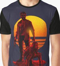 Logan Sunset Graphic T-Shirt