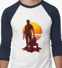 Logan Sunset Men's Baseball ¾ T-Shirt