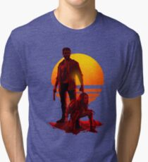 Logan Sunset Tri-blend T-Shirt