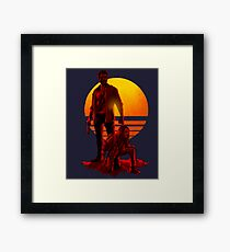 Logan Sunset Framed Print
