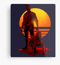 Logan Sunset Metal Print