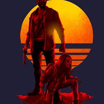 Logan Sonnenuntergang von Gerkyart