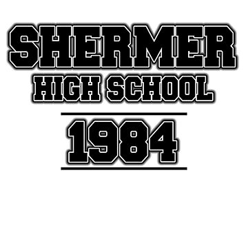 SHERMER HIGH SCHOOL - 1984 by tardisbabes