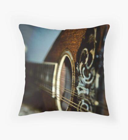 Ukelelee Throw Pillow