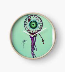 Pierced Eyeball Clock
